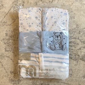 Set of three cotton PJs new in package